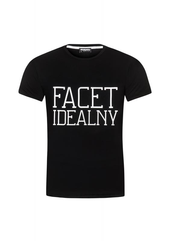"T-SHIRT ""FACET IDEALNY"""