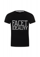 "T-SHIRT ""FACET IDEALNY"""