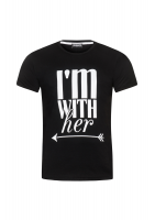"""T-SHIRT """"IM WHIT HER"""""""