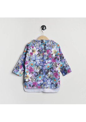 ASYMMETRIC SWEATSHIRT IN FLOWERS PRINT KIDS