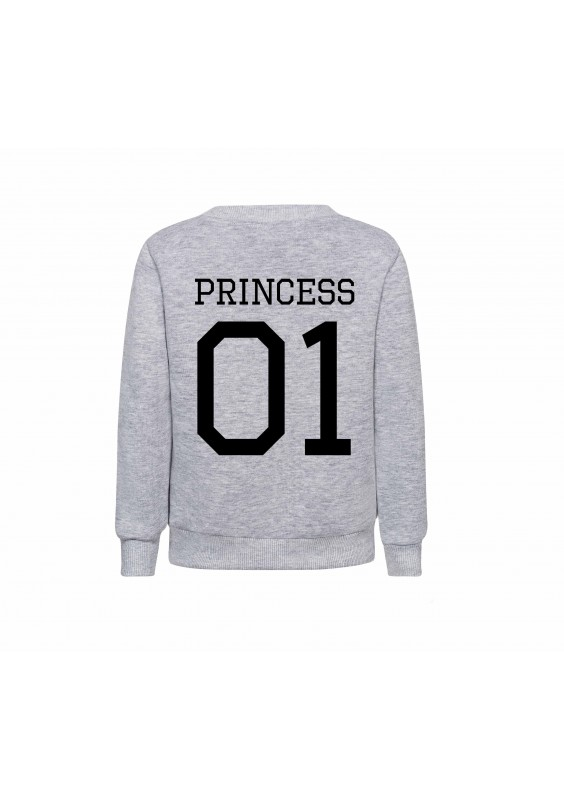 "GIRLS ""PRINCESS 01"" SWEATSHIRT"