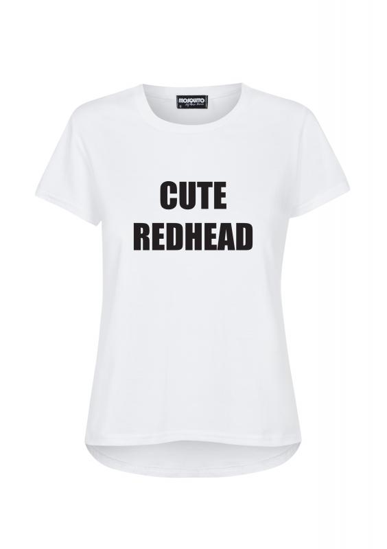 """""""CUTE REDHEAD"""" T-SHIRT"""