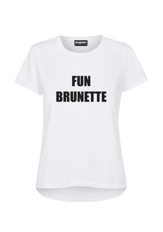"""FUN BRUNETTE"" T-SHIRT"
