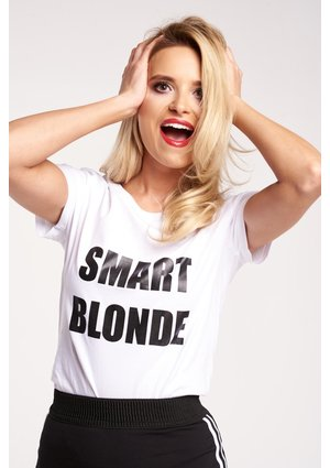 "T-SHIRT ""SMART BLONDE"" ILM"
