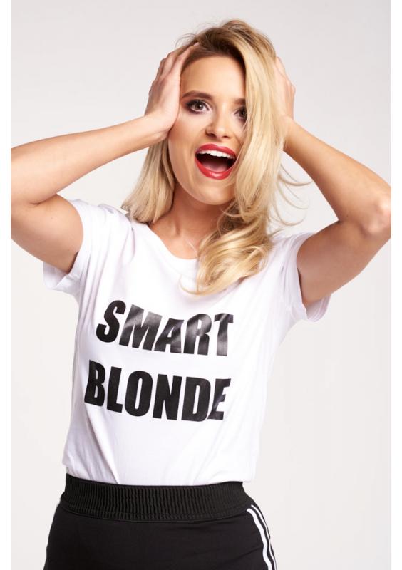 """""""SMART BLONDE"""" T-SHIRT"""