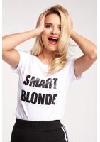 """T-SHIRT """"SMART BLONDIE"""""""