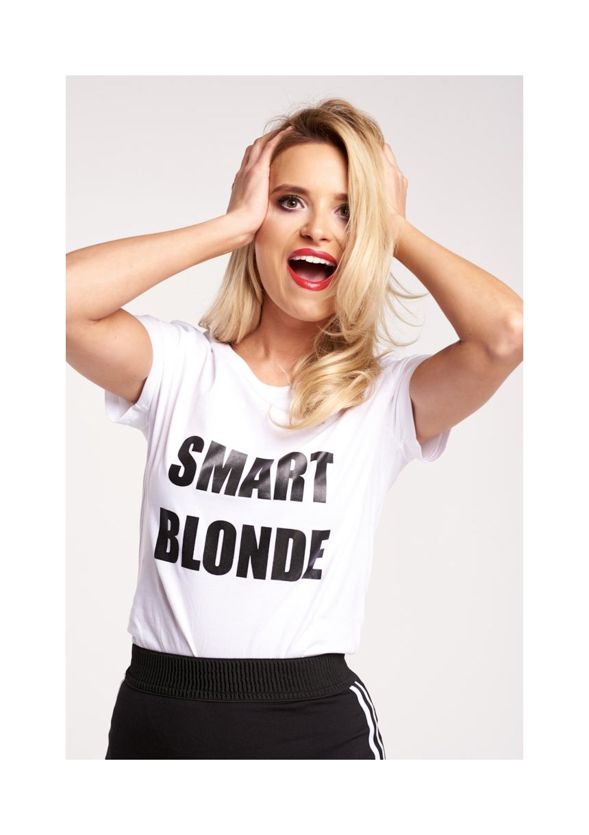 "T-SHIRT ""SMART BLONDIE"""