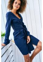 WRAP DRESS IN FLORAL PATTERN