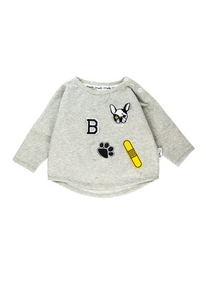 "SWEATSHIRT ""DOG PATCHES"""