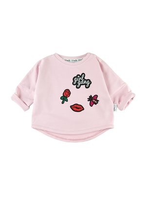 SWEATSHIRT WITH GIRLS GANG PATCHES