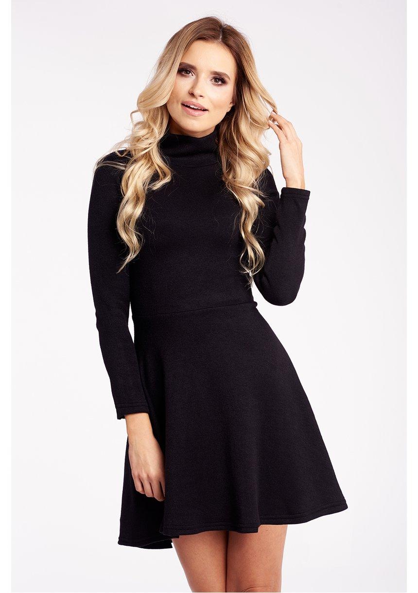 zimowa sukienka