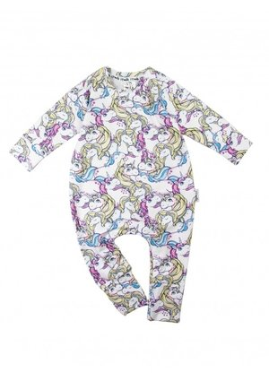 "LONG SLEEVES ROMPER ""UNICORN''"