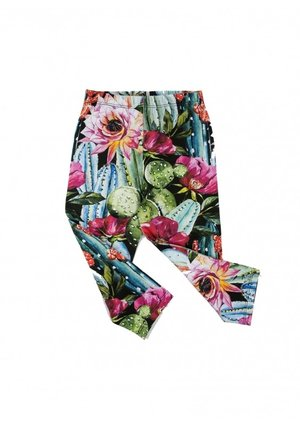 "TROUSERS ""CACTUS FLOWERS"""