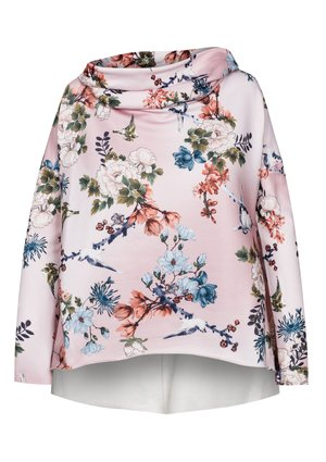 BLUZA FLOWERS Z KAPTUREM