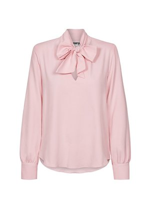 POLAK DOT SHIRT WITH BOW
