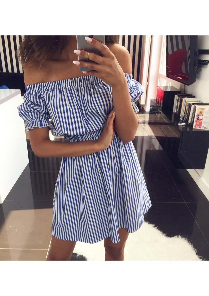 OFF SHOULDERS DRESS