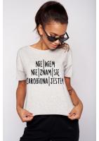 """T-SHIRT """"ZAROBIONA JESTEM""""ILM"""