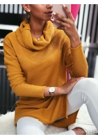 ASYMMETRICAL SWEATER WITH POCKET