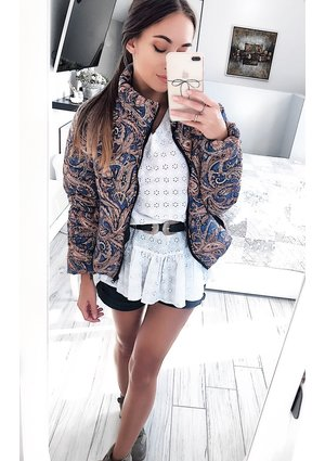 AUTUMN PRINT JACKET ILM
