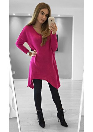 LONG ASYMMETRIC SWEATER ILM