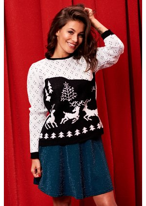 SWEATER SNOW WHITE ILM A29
