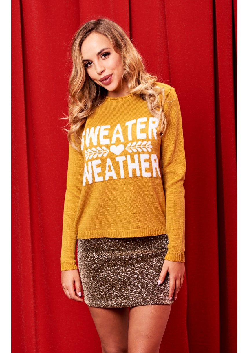 SWEATER WEATER