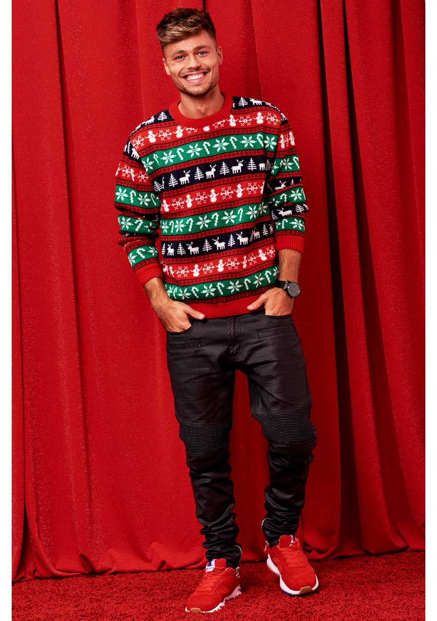 SWETER WINTER TIME COLORS MAN