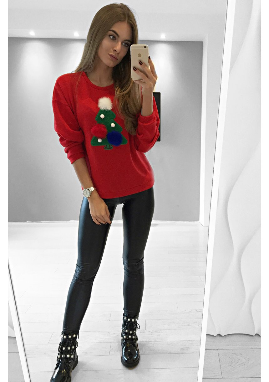 SWEATER APPLIQUE ILM