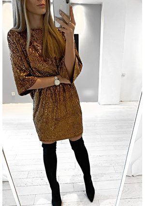 SEQUINS TUNIC