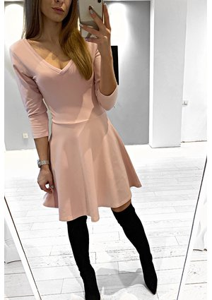 SKATER COTTON DRESS ILM