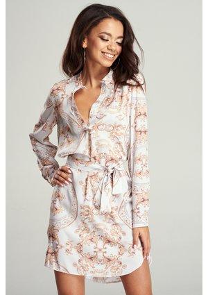 SHIRT DRESS BAROCUE PRINT