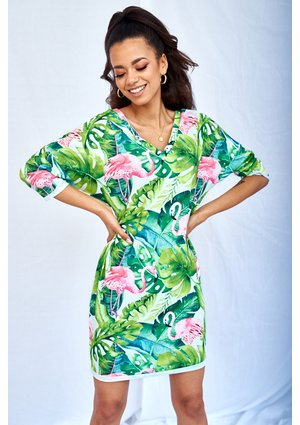 MONSTERA PRINT TUNIC ILM
