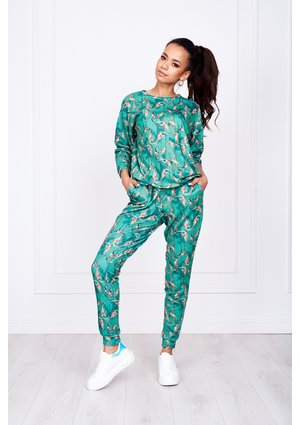 MONKEY SWEATPANTS PRINT ILM