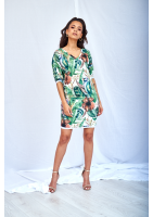 TROPICAL PRINT TUNIC ILM