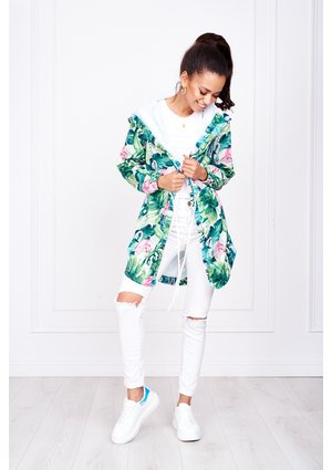 MONSTERA PRINT PARKA ILM