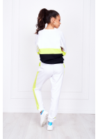 TROUSERS WITH NEON COLOR BLOCK ILM