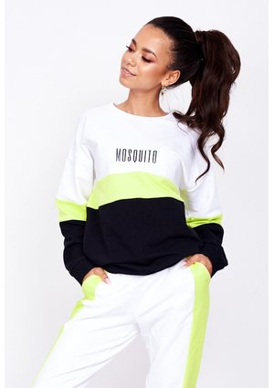 SWEATSHIRT WITH NEON COLOR BLOCK ILM