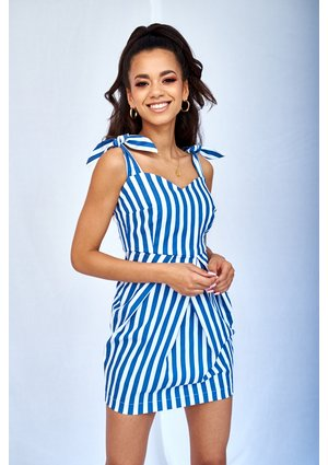 SUMMER DRESS IN STRIPES PRINT