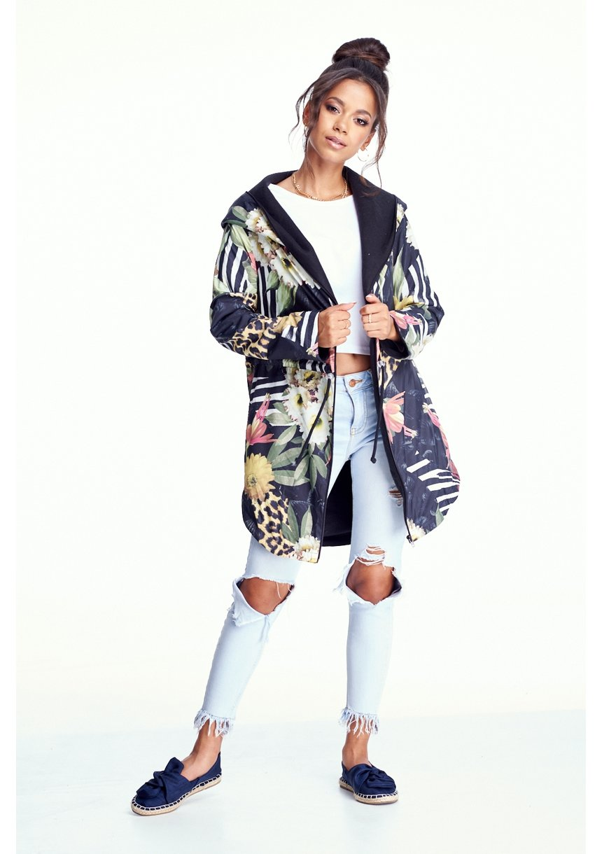 PARKA JUNGLE PATCHWORK