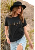 """T-SHIRT """"WILD GIRL"""" ILM"""