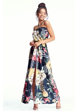 MAXI DRESS IN JUNGLE PRINT