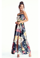 SUKIENKA MAXI JUNGLE PATCHWORK
