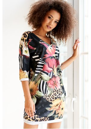 JUNGLE PRINT TUNIC ILM