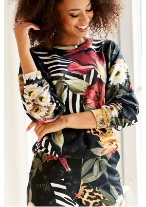 BLUZA JUNGLE PATCHWORK PRINT ILM