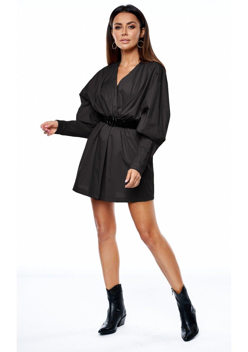 Sukienka z popeliny black