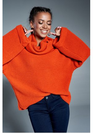 TURTLENECK ORANGE SWEATER A17 ILM