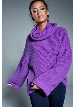 TURTLENECK PURPLE SWEATER A17 ILM