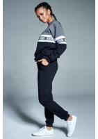 Spodnie bawełniane basic Czarne ILM
