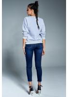 """Bawełniana bluza """"Stay Classy"""" szara ILM"""