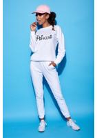 """Bawełniana bluza """"Princess"""" biała ILM"""